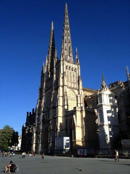 Catedral St Andres, Burdeos #Francia