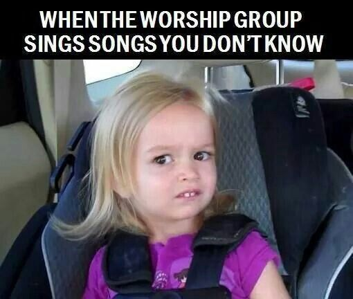 We just couldn't pass up these spot-on and hilarious Christian memes that every worship lover can identify with all too well.
