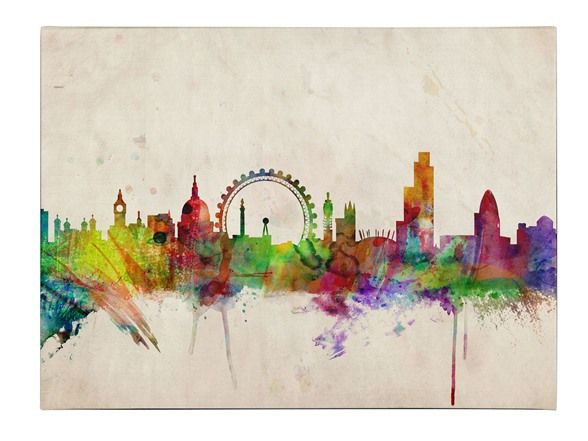 London Skyline Canvas Art