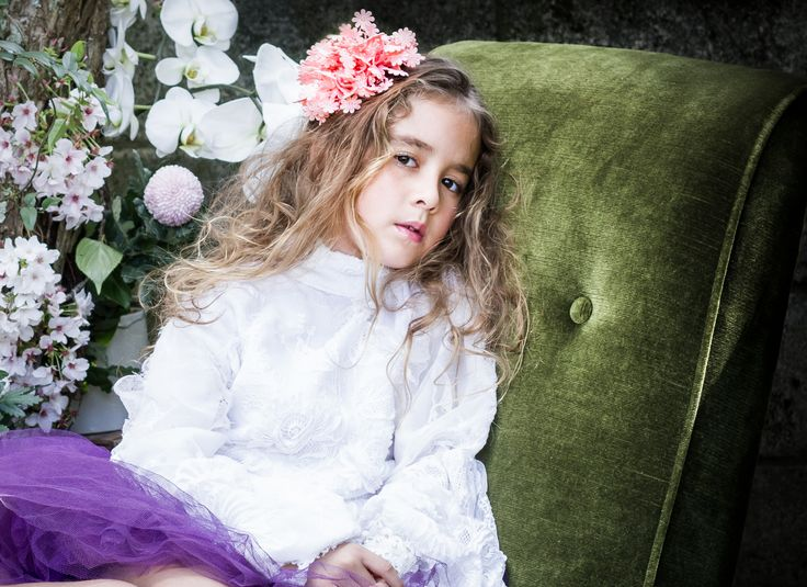 #SiennaLikestoParty - #Luxury #Accessories for Little Girls.  Shot from our latest branding campaign!