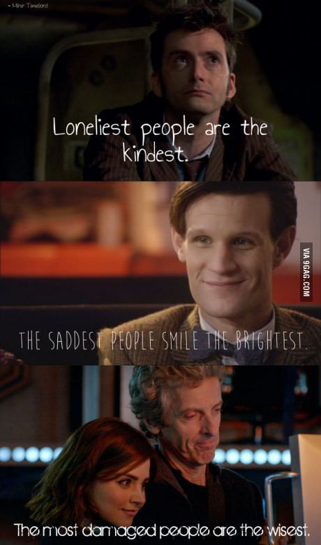 Re-quoted in Doctor Who theme.