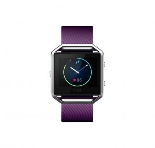 Branded Fitbit BLAZE Smart Fitness Watch – Plum