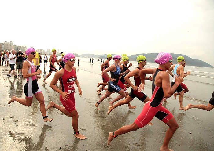 Santos será a capital nacional do triatlo em 2017. A Cidade receberá o já tradicional Triathlon Internacional no próximo fim de semana, abrindo o calendário