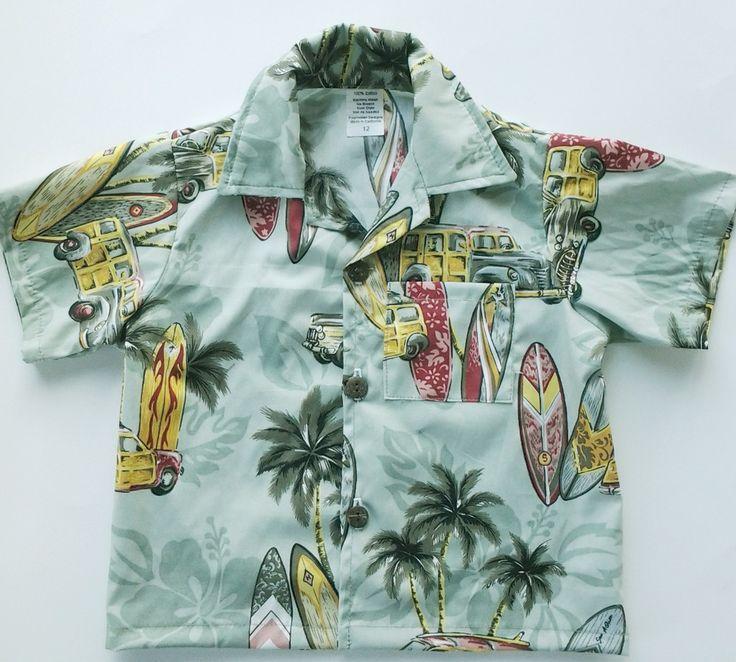 Polynesian Designs - Boys Hawaiian Shirt Surfer Dude Green, $20.00 (http://www.polynesiandesigns.com/boys-hawaiian-shirt-surfer-dude-green/)