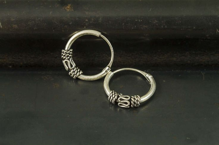 A personal favorite from my Etsy shop https://www.etsy.com/listing/522733599/12mm-bali-hoop-earrings925-sterling