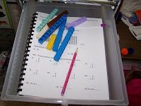 The Workbox System | Confessions of a Homeschooler