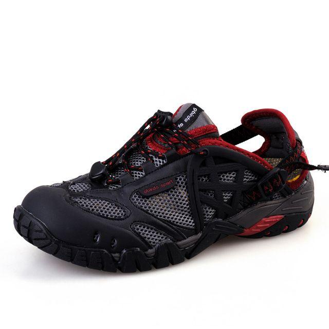 Hot Spring/Summer Hiking Sandals Men Women Aqua Water Shoes Mesh Breathable Outdoor Fishing Shoes Ladies Walking Water Sandals free shipping worldwide