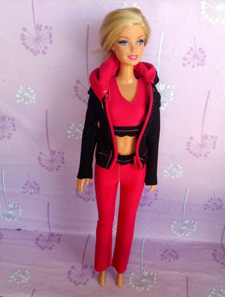 COMO HACER ROPA DEPORTIVA para barbie (Tutorial)