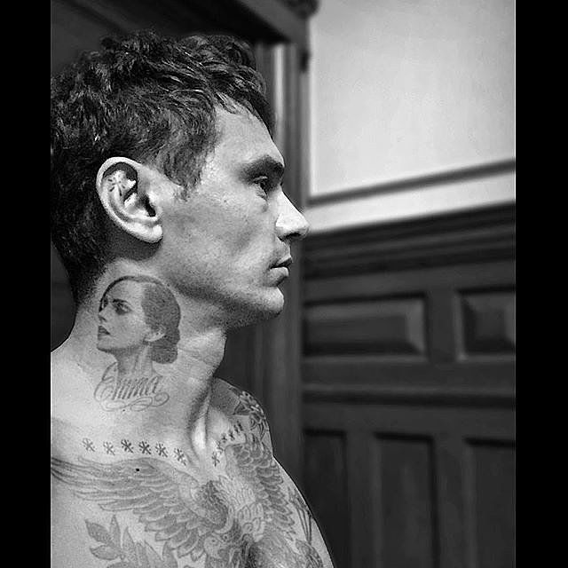 James Franco With Emma Watson Tattoo Picture | POPSUGAR Celebrity UK