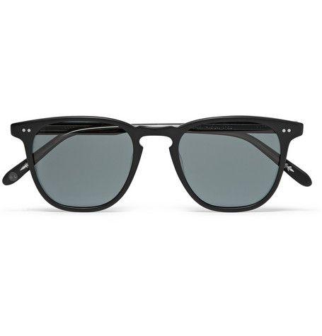 Garrett Leight California OpticalBrooks Round-Frame Acetate Polarised Sunglasses