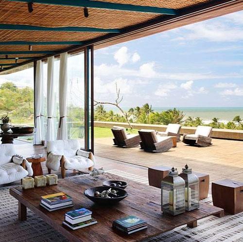 beach house terrace + outdoors