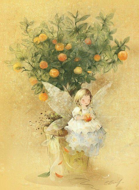 Фейка мандаринового дерева © Екатерина Бабок