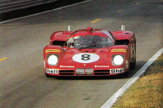 24 heures du Mans 1970 - Ferrari 512S #8- Pilotes : Arturo Merzario / Clay…