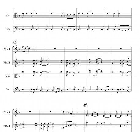 SULTANS OF SWING (Dire Straits) arranged for string quartet