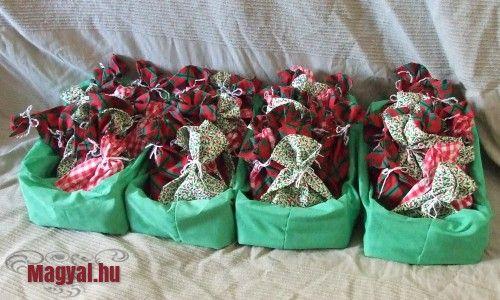 Adventi csomagok -  - Karácsony - Karácsonyi készülődés - Christmas - Advent