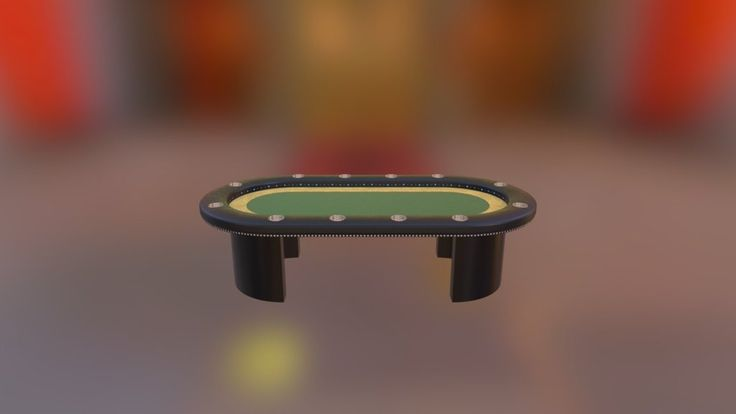 Poker Table by pidiong