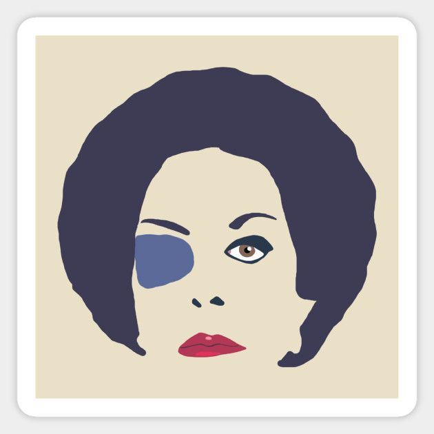 La loba mexican Catalina Creel soapopera, telenovela sticker.