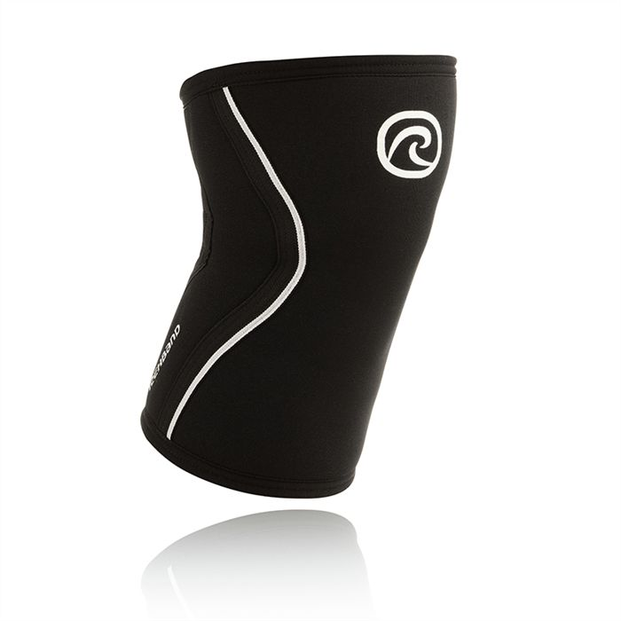 Rehband Black KneeSleeves in 7mm & 5mm only from Industrial Athletic