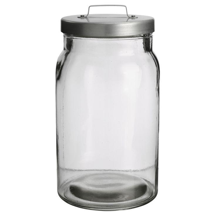 BURKEN Jar with lid - 2.2 l - IKEA