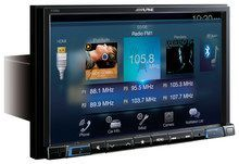 "Alpine - 8"" - Built-In GPS - Built-In Bluetooth - Built-In HD Radio - Apple® iPod®-Ready - In-Dash Deck - Black"