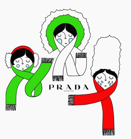 Mr L'Agent / Illustration / Honet / Prada