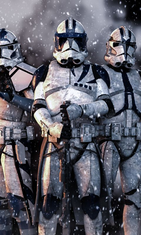 Star Wars Artwork Soldiers Stormtrooper 480x800 Wallpaper Coole Dingen Achtergrond Iphone Achtergronden