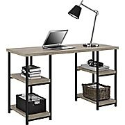 Shop Staples® for Dorel Elmwood Desk, Sonoma Oak/Black and enjoy everyday low prices, and get everything you need for a home office or business.