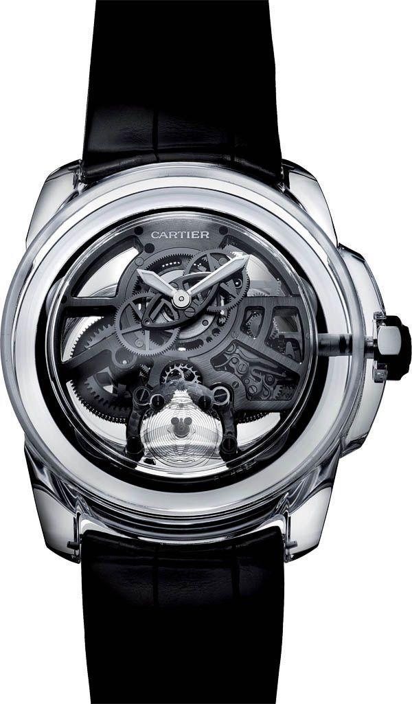 Montre tendance : La Cote des Montres : Cartier ID Two Concept Watch  Le temps réinvent&#233