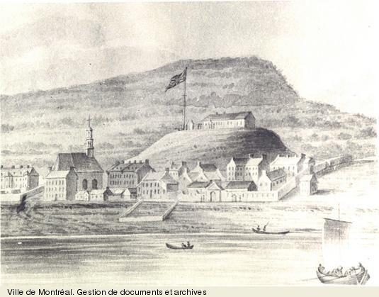Vue de Montréal. - [entre 1773 et 1820]