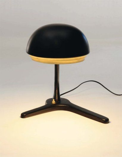1950_ office lamp model 'A 704' by Alvar Aalto & Aino Aalto design, collection Bischofberger