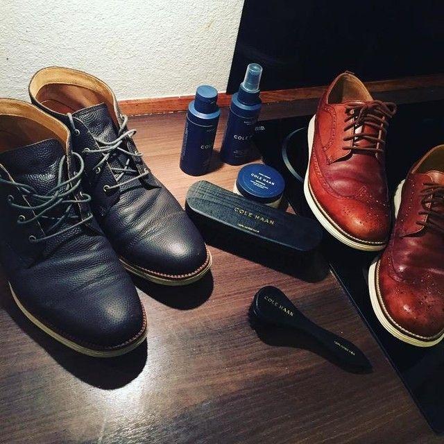 Holder mine Cole Haan's helt friske #winteriscoming #colehaan #shoes  #brouges #dollarlife