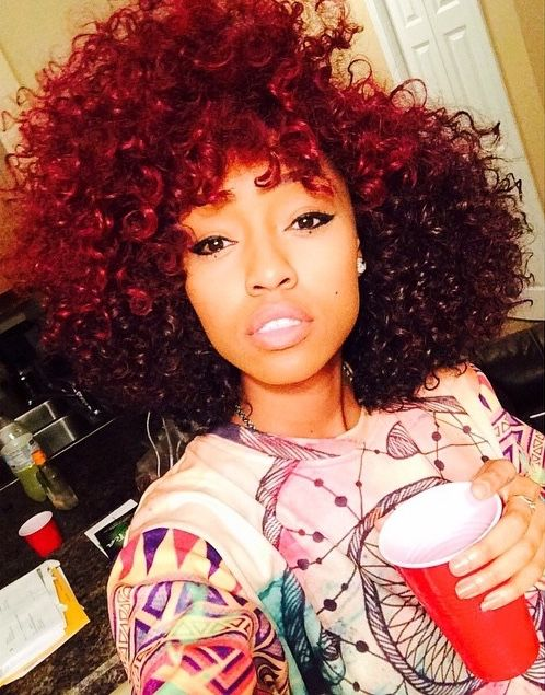 black women with red hair - Google Search