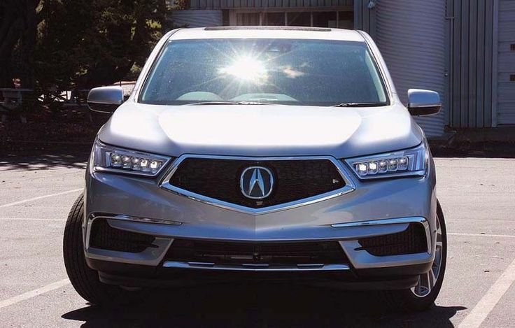 2018 Acura MDX overview