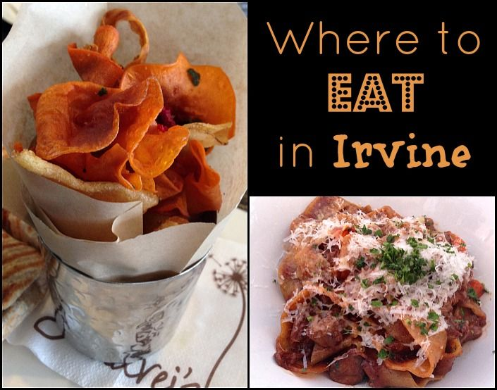 Where to eat in Irvine California.