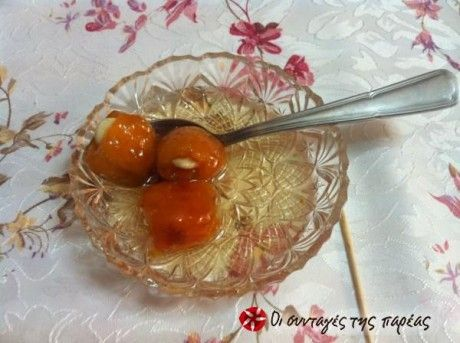 A very original and enjoyable spoon sweet that you will love!! The recipe is my mother's!