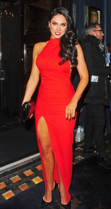 Vicky Pattison at Cafe De Paris in Central London in February 2015...