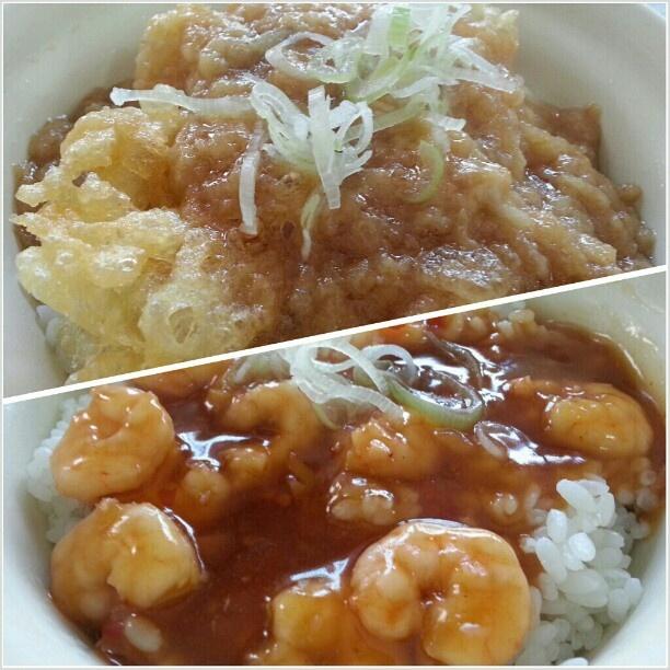 ご馳走様でした! #天丼 #エビチリ丼 #tendon #ebichilidon for #lunch #japanese#yummy#food#restaurant #dondondonburi #makati#philippines#フィリピン