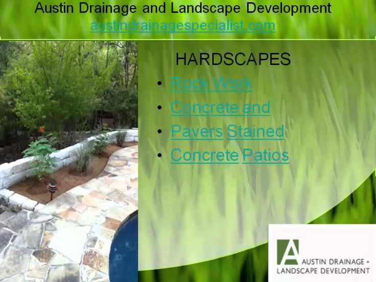 Landscape services involve the designing of the landscape. Moreover, the drainage system, setting up of the irrigation system, rock work or hardscapes, tree services, and wall retention all are managed under landscaping. http://austindrainagespecialist.com