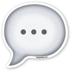 Speech Balloon | Emoji Stickers
