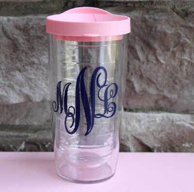 GameDayGirlsandGifts on Etsy, $19.00 This is already the perfect monogram too :)