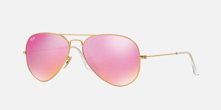 Coolness enters a new realm with flash lenses. These popular Ray-Ban lenses include a mirror multi-layer treatment. Iconic shapes meet must-have style.