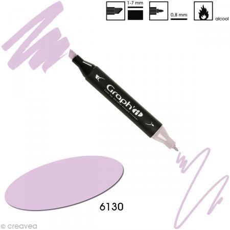 Feutre à alcool Graph'it 6130 - Orchid (violet orchidée) http://www.creavea.com/feutre-a-alcool-graphit-6130-orchidviolet-orchidee_boutique-acheter-loisirs-creatifs_38399.html