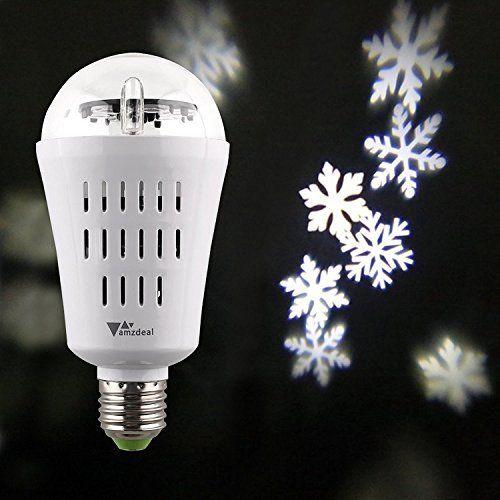 Amzdeal Fari da palco figura di bianco fiocco di neve, ideale per discoteca, sala da ballo, KTV, bar, palcoscenico, club,partito,compleanno,matrimonio,ecc(2 pezzi), http://www.amazon.it/dp/B01EUTWSWO/ref=cm_sw_r_pi_awdl_x_bK--xbHWRJ47Q