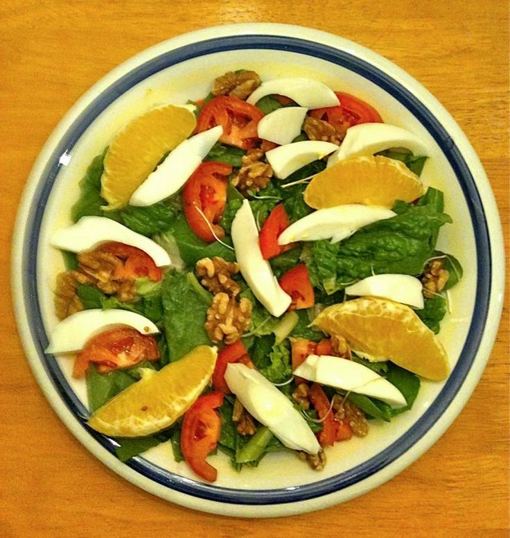 Orange & Spinach Salad!: Spinach Salad
