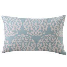 """Envío Gratis Algodón de lino rectangular de 20 """" * 12 """" almohada cubierta de Pillowslip Almofadas Sofá Cojín Almohada Caso Araña Azul(China (Mainland))"""