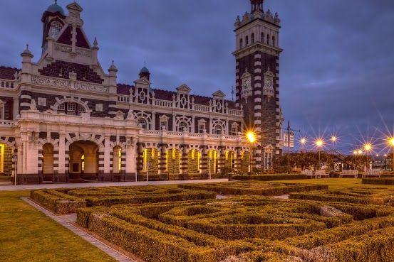 Anzac Square, Dunedin, New Zealand