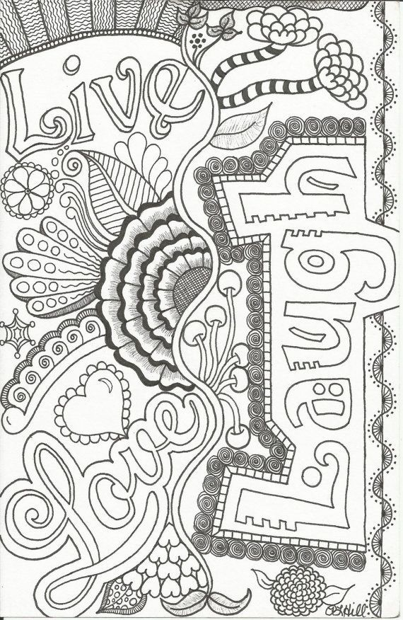 32 best coloring pages images on Pinterest  Coloring books Adult