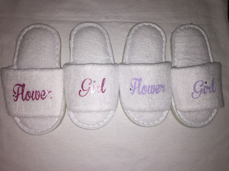 flower girl slippers, bridesmaid slippers, wedding slippers, spa slipper, personalised slippers, bridesmaid gift , flower girl gift, by personaliseddiamante on Etsy https://www.etsy.com/uk/listing/273586130/flower-girl-slippers-bridesmaid-slippers