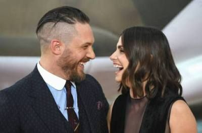Tom Hardy and Charlotte Riley | Dunkirk | London Premiere (Arrivals) July 13, 2017.