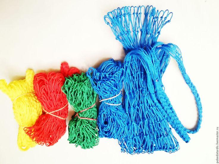Купить авоська - разноцветный, красный, синий, жёлтый, чёрный, зеленый, белый, сетка, авоська, сумка